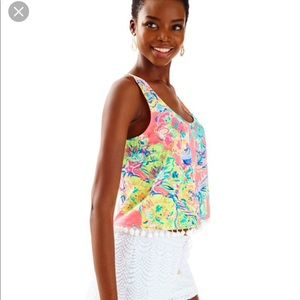 Lilly Pulitzer Shirley Top S